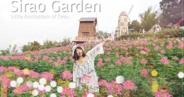 菲律賓 ▌宿霧本島景點:Sirao Garden 天空花園 宿霧阿姆斯特丹 天氣好就很好拍