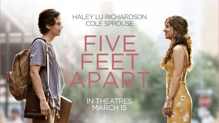 電影 ▌愛上觸不到的你 Five Feet Apart 一個擁抱原來那麼奢侈 Imdb7.0分 (有雷)