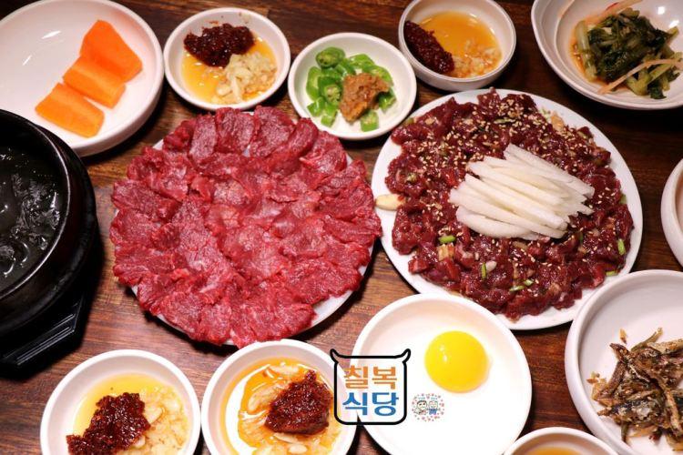 韓國大邱 ▌壽城池站:칠복식당七福餐館 美味的韓牛料理/大邱十味《加小菲專欄》