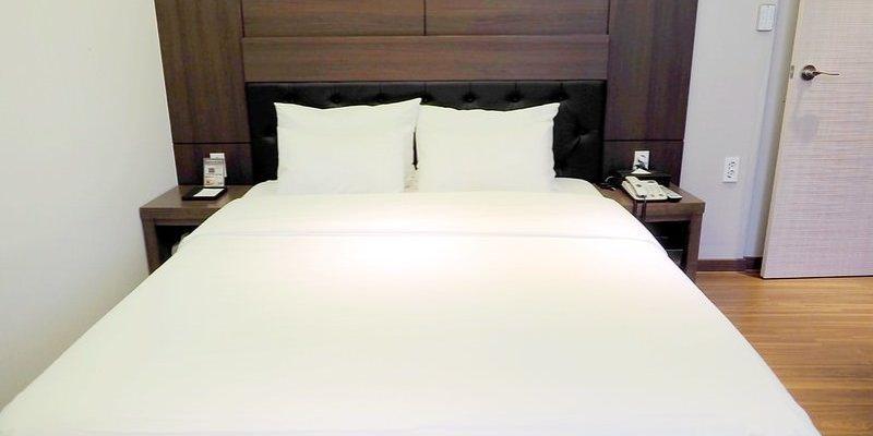 韓國釜山住宿 ▌西面站:Lion Hotel라이온호텔 交通便利機能好 平日一千多超划算《加小菲專欄》