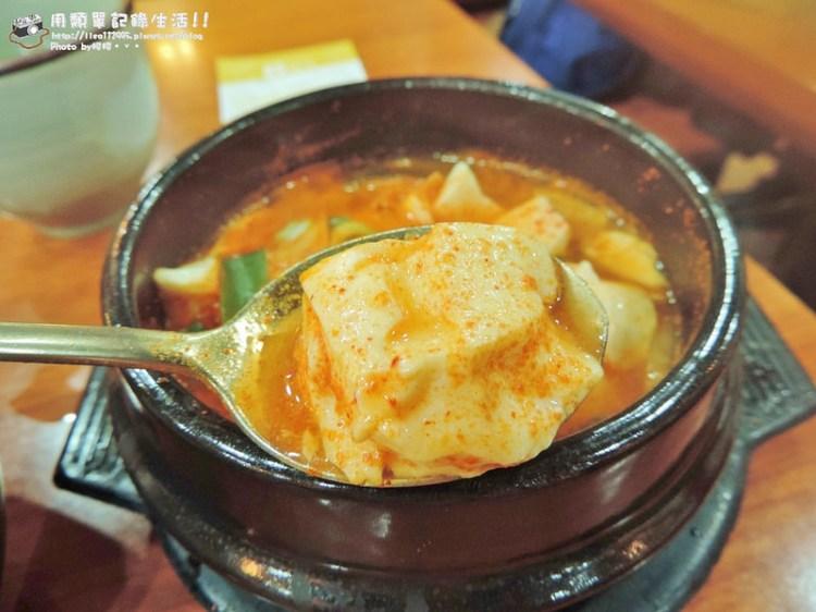 韓國釜山美食 ▌南浦洞 豆田裡嫩豆腐 重點是小菜吃到飽《妮妮專欄》