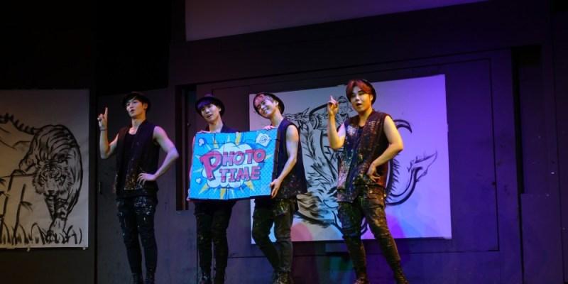 韓國旅行 ▌首爾必看表演秀:The Painters 塗鴉秀, 結合藝術 音樂的特色公演