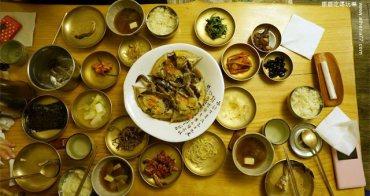 韓國首爾 ▌安國站(328) 大瓦房큰기와집  韓劇「一起吃飯吧」的醬油螃蟹餐廳