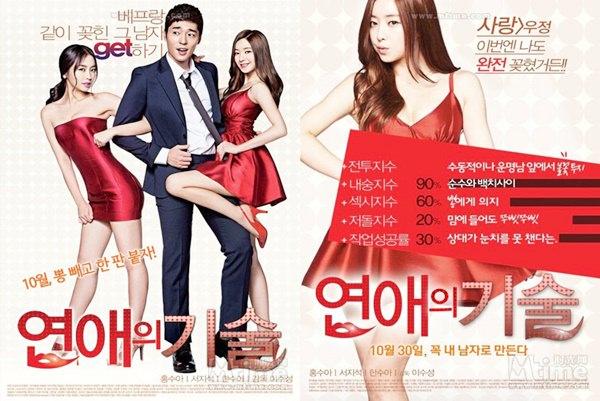 韓國電影 ▌18禁喜劇電影《戀愛的技術》/ Mango Tree