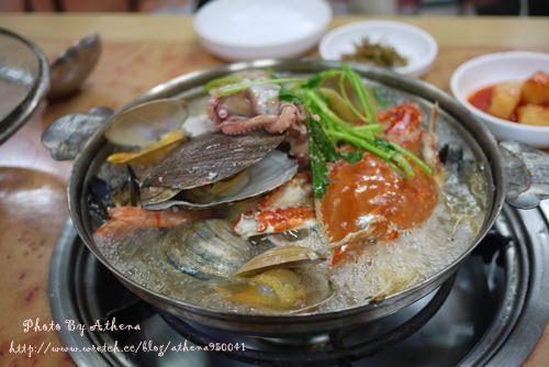 韓國 ▌釜山自由行 : 西面食記 海東海鮮鍋해동해물탕 滿滿的一整鍋海鮮
