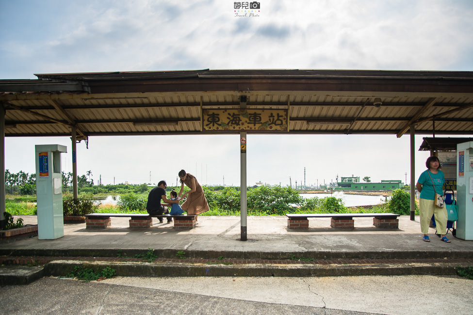  屏東景點 東海車站,適合放空發呆的無人小車站