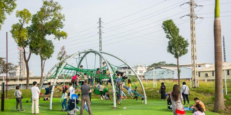 特色公園 阿猴1909綠水園區(台糖縣民公園),屏東第一座共融式遊戲場