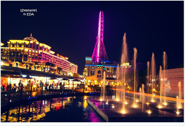 Kaohsiung|高雄‧大樹|置身在歐洲不夜城*義大世界