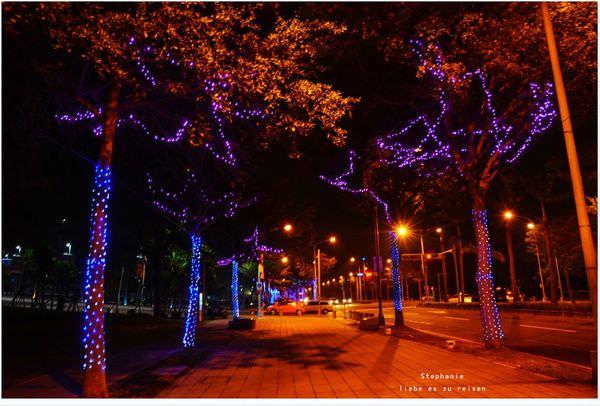 Kaohsiung 高雄‧左營 漫步在星光大道上之遲來聖誕節快樂