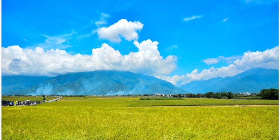 Hualien|花蓮‧富里|眺望花東縱谷,讓人感到心曠神怡的六十石山