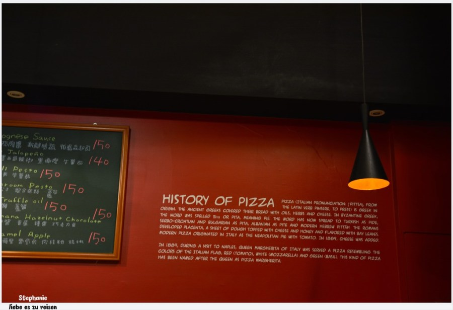 Taichung 台中‧西區 Pizza dall' ort 歐透手工鮮蔬披薩*蔬食披薩也可以很美味