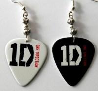 One Direction 2 Sided Guitar Pick Earrings   eBay