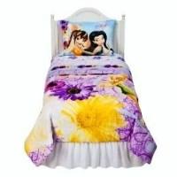 DISNEY TINKERBELL~fairies~TWIN BED COMFORTER SET ...