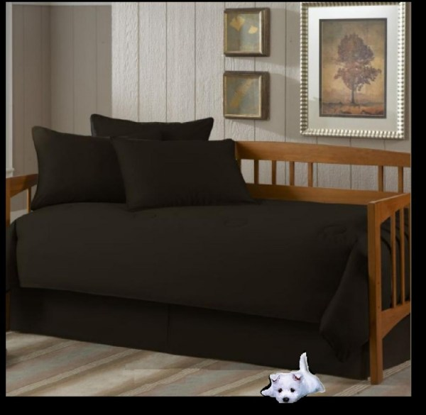 5pc Daybed Sets - Solid Colors Custom Tailored