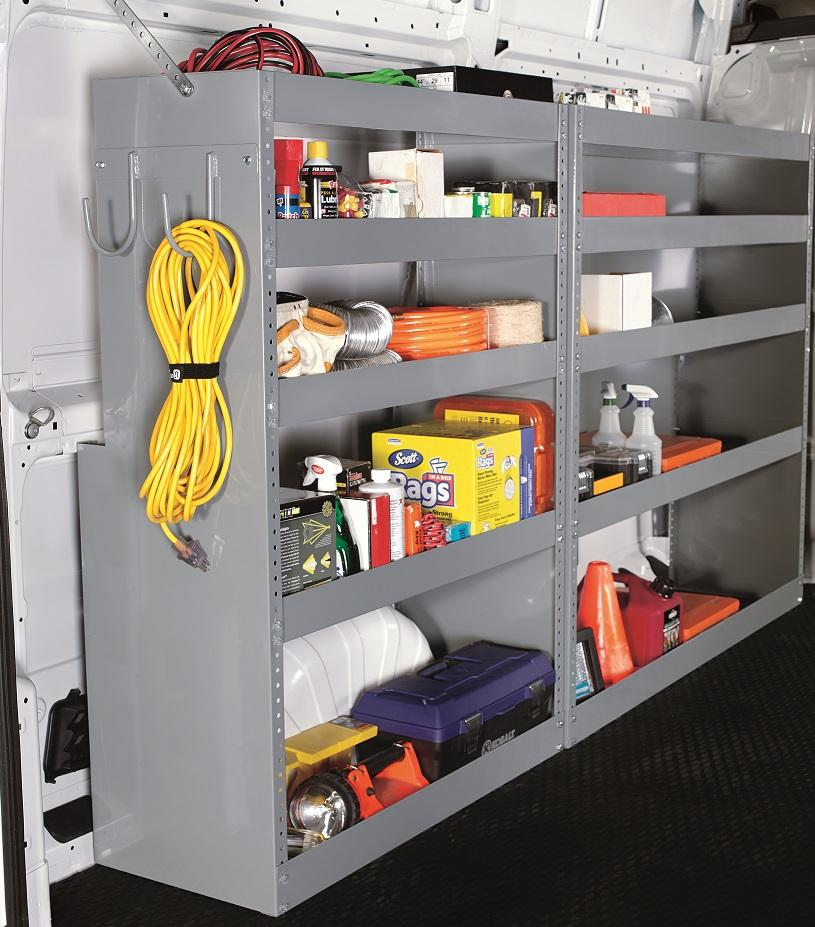 Truck  Van Shelving  Shelf and Bin Systems  American Van