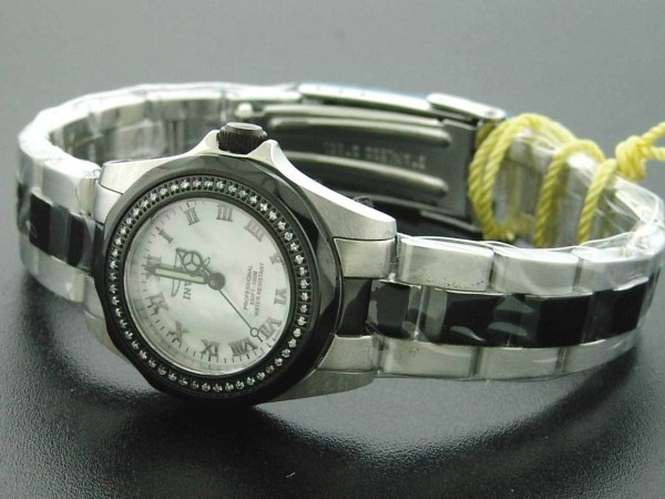 Invicta Women 0.37ct Diamond Swiss Quartz Stainless Steel