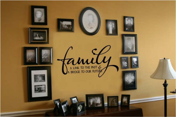 Family Link Bridge Future Vinyl Wall Decal
