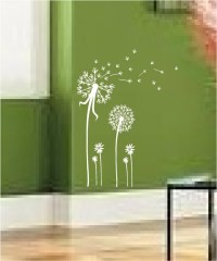 Dandelion Spore Art Vinyl Wall Decal Mural Sticker