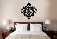 Damask Embellishment Vinyl Decal Wall Sticker Master ...