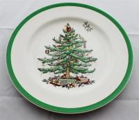 Copeland Spode - CHRISTMAS TREE - S2133 - Old Brown Mark ...