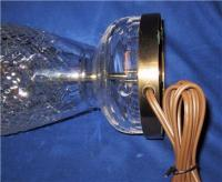 Waterford Crystal Table Lamp, TRAMORE, Solid Brass Base ...