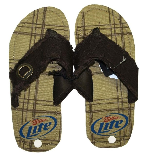Miller Lite Brewing Beer Bottle Opener Mens Beach Party