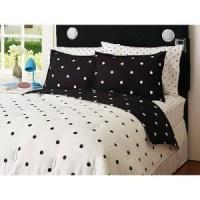 Top 28 - Black And White Polka Dot Comforter Set - black ...