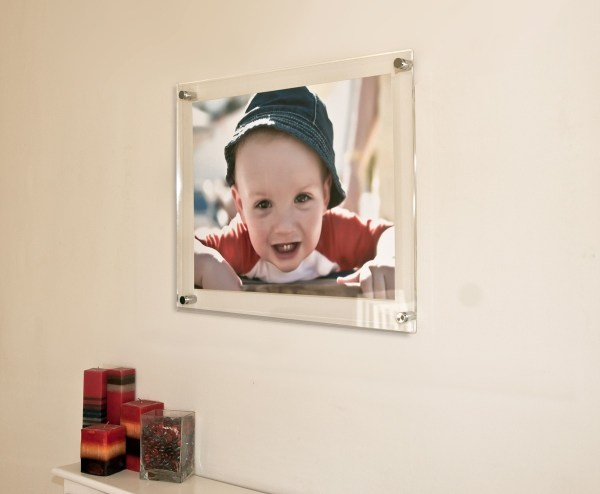 Panoramic Acrylic Frame Wall Floating