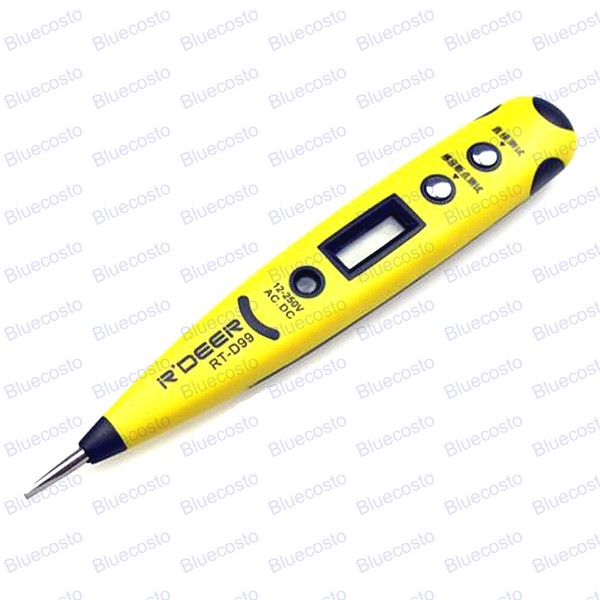 Electrical Voltage Circuit Tester Pen Screwdrivercircuit Line Tester