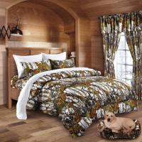 Twin Queen King Camo 13pc Comforter Bed Set Camouflage ...