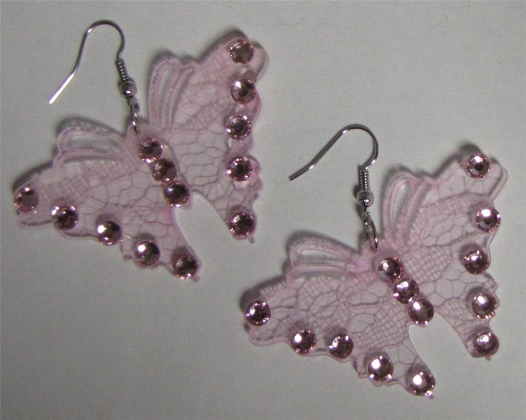 Butterfly Shaped Wire Fashion Earrings  Ebay