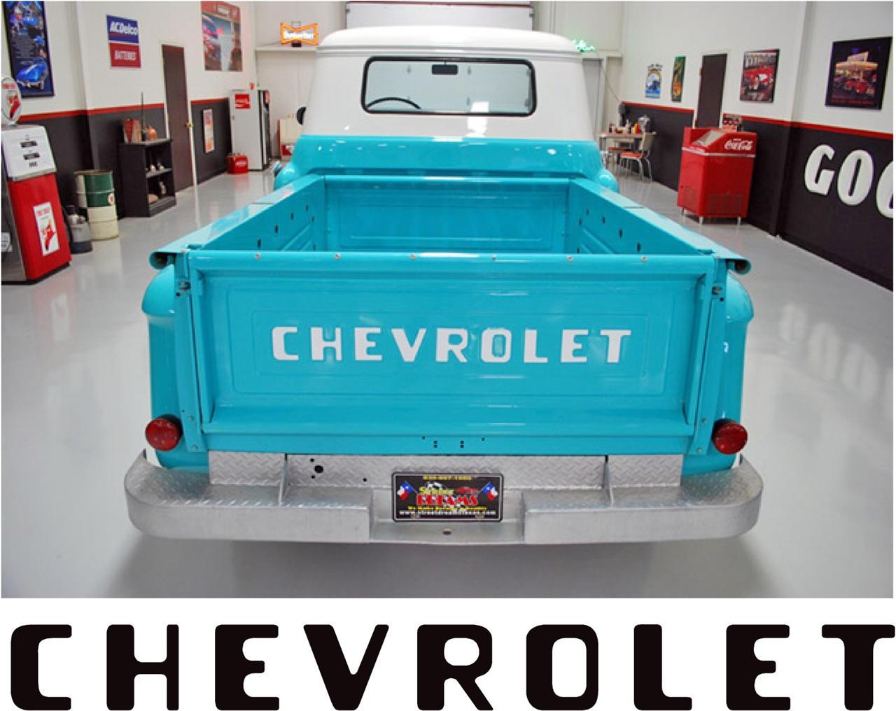 Chevrolet Tailgate Writing