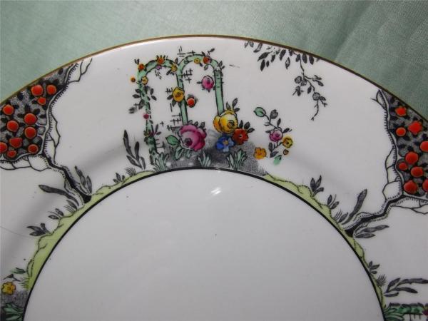 Vintage Jackson & Gosling Grosvenor China Teaware Pattern
