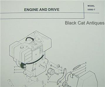 Original 1976 MTD Snow Thrower Tractor Attachment Parts