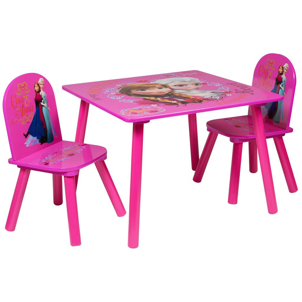 disney table and chair set with umbrella attached frozen pink of 2 chairs furniture