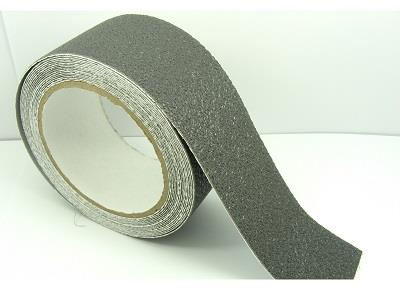 GREY 50mm 2 Wide RUBBER Anti NON Slip Safety TAPE