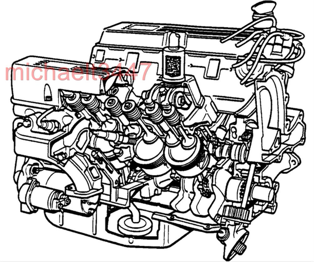 Land Rover V8 Engine Overhaul Workshop manual (3.5, 3.9, 4