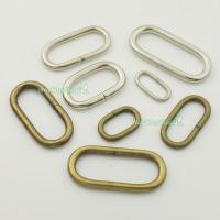 Metal Loop Oval Ring Leather 4 Purse Bag Handbag Straps 1