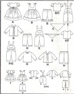 BABY BITTY CLOTHES DOLL PATTERN « FREE Knitting PATTERNS