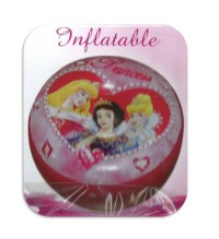 NEW DISNEY INFLATABLE POUF STOOL CHAIR BEDROOM SEAT