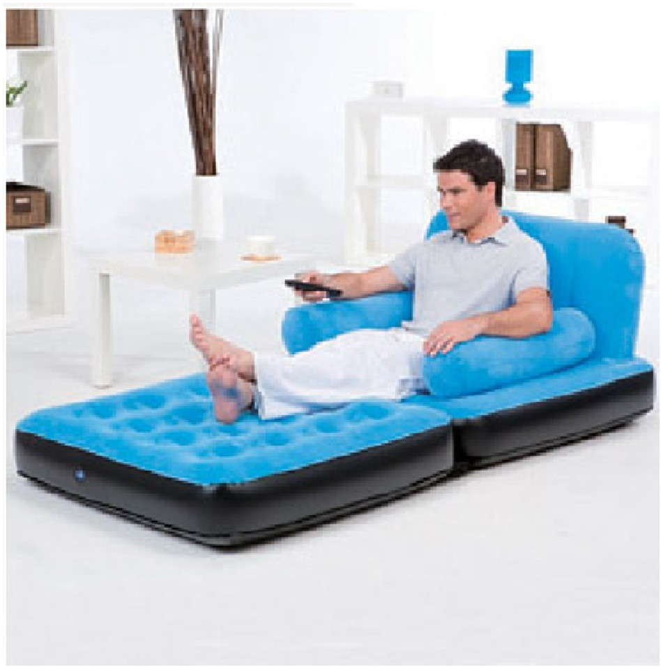 bestway inflatable air sofa couch bed are klaussner sofas good quality multi functional airbed chair ...
