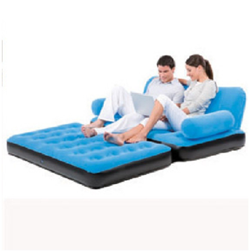 bestway inflatable air sofa couch bed intex target multi functional airbed chair ...