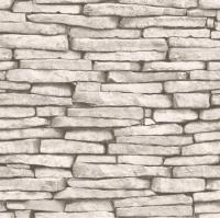 white brick 2017 - Grasscloth Wallpaper