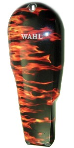 wahl flame hair clipper lid design