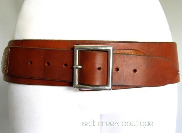 Vintage Hunter 152-lg Brown Leather 22 Caliber Ammunition