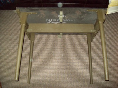 US MILITARY FOLDING PORTABLE WOOD FIELD TABLE ALL