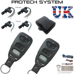 Universal Keyless Entry Wiring Diagram Sony Cdx Gt600ui Latest High Spec Hopping Code Central Locking Kit Remote Clr788hc-4d | Ebay