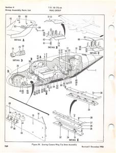 1957 BOEING QB-17G DRONE SUPPLEMENT ILLUSTRATED PARTS