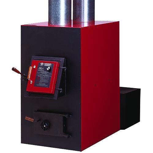 HOTBLAST Warm Air Wood/Coal Furnace with 550 CFM Blower