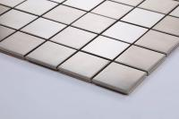 Stainless Steel Mosaic Tiles Sheets Bathroom Kitchen ...